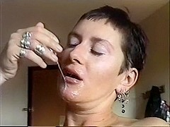 Wicked wife facial compilation
