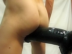 Biggest sex-toy and fist my arse