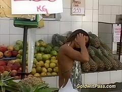 brazilian round ass deep anal fucked