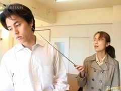 Reiko Sugimura and friend have sex in school