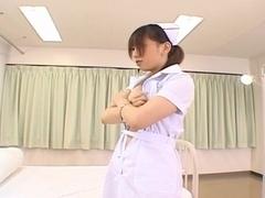 Ai Sayama Naughty Asian nurse is horny