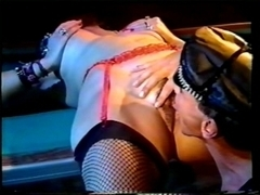 MN - 80's - Taskmaster with leather balls ring, fuck a doxy