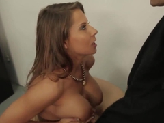 Big busted Madison Ivy is a twatty teacher