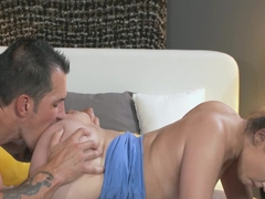 Loose boobies fresh mom creampied after fucking