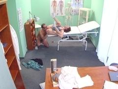 Exotic pornstar in Horny Medical, Voyeur porn clip
