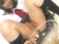 Exotic Japanese model Maho Asada in Crazy Facial, Dildos/Toys JAV scene