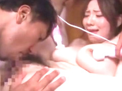 Incredible Japanese slut Alice Ozawa in Amazing Stockings/Pansuto, Squirting/Shiofuki JAV video