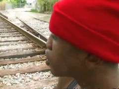 Gay black thug gets fuck
