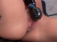 Crazy fetish porn clip with horny pornstar Ariel X from Fuckingmachines