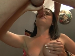 Exotic pornstar Ashli Ames in horny old and young, blowjob sex scene