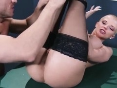 Johnny Sins naughtily fucking and sucking punk Joslyn James's pussy!
