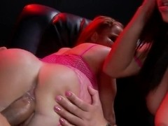Adrianna Luna,  Nikki Delano in threesome sex