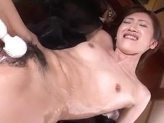 Horny Japanese chick Kanon Hanai in Best JAV uncensored Anal scene