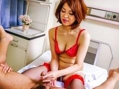 Crazy Japanese girl Erika Nishino in Amazing JAV uncensored Lingerie movie