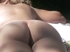 Tanning wife