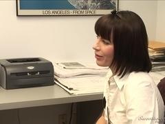 Lesbian Office Seductions #02, Scene #04