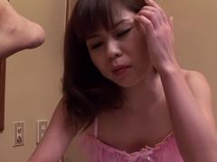 Best Japanese slut Yukari in Crazy JAV uncensored Lingerie video