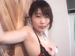 Horny Japanese chick Mika Shindoh in Fabulous BDSM, Secretary JAV scene