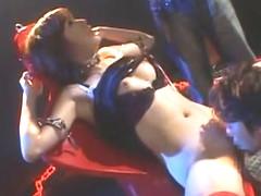 Horny Japanese girl Miki Yamashiro in Amazing Fetish, Gangbang JAV video