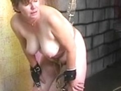 Thick big beautiful woman dark brown acquires bawdy cleft humiliated with hook and wazoo spanked r.