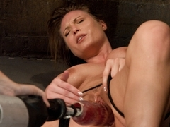 Crazy fetish xxx movie with incredible pornstar from Fuckingmachines
