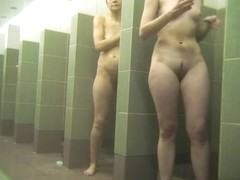 Hot Russian Shower Room Voyeur Video  38