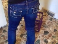 PAWG Jeans Cleaning
