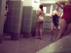 Hidden cameras in public pool showers 698