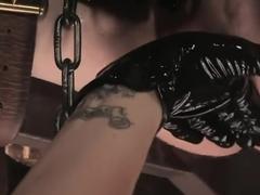Demanding Mistress Kross puts Kade in The Chair