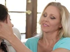 Horny pornstar in Amazing Lesbian, HD adult clip