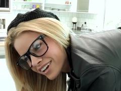 Fabulous pornstar Jessa Rhodes in Amazing Facial, Big Cocks xxx movie