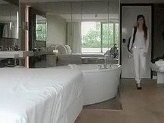 Cute teen fucked in hotel bedroom