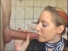 German Pair are fucking in the kitchen