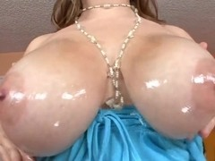 Cassandra Calogera is a horny bitch that is making blowjob