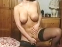 Sexy Dark Brown Breasty Mother I'd Like To Fuck Teasing in various outfits V HOT!