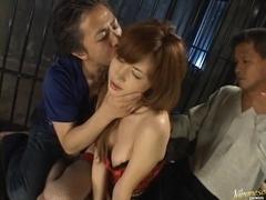 Aya Koizumi Asian model in hardcore Japanese sex