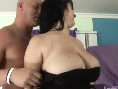 Chubby Beverly Paige fucks a guy like a ton of bricks