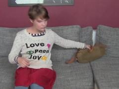 FemaleAgent HD Shy Hippie tastes pussy