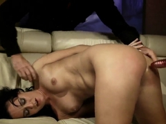 The ugly BDSM scene by the Barbie Pink and her crazy girlfriend