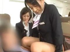 Crazy Japanese girl Rina Miue, Maho Sawa, Yuu Mahiru in Incredible Handjobs, POV JAV video