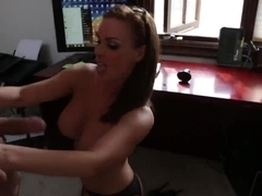 Busty and sexy teacher Diamond Foxxx gets fucked by her bad student Ryan Driller