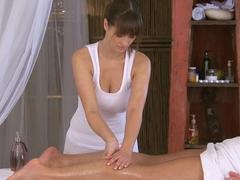 Incredible pornstars Jan, Small Hands, Sofia Solana in Best Handjobs, Massage adult clip