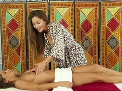 Incredible pornstars Dani Daniels, Presley Hart in Fabulous Lesbian, Massage xxx video
