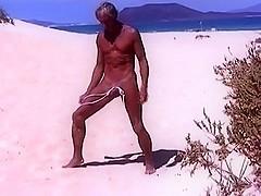 Tiny Thong At Public Beach