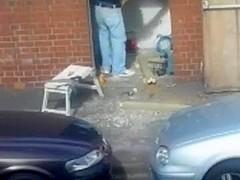 Spy hawt hawt construction worker NO NUDITY uk, vigour tools