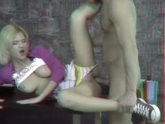 Hottie seduces her tutor