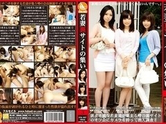 Natsuki Oriyama, Ami Morikawa, Anna Namiki in Young Wives at a Secret Site 3 part 2