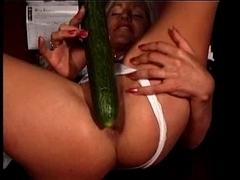 Georgette Likes her vegetables