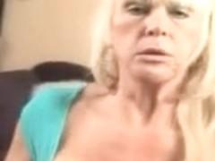 Dirty Talking Big Titty Granny Fucking