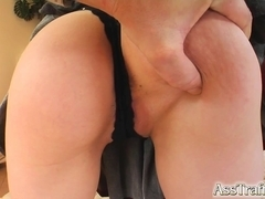 Ass Traffic Rebecca's anal cherry is popped to her sweet delight